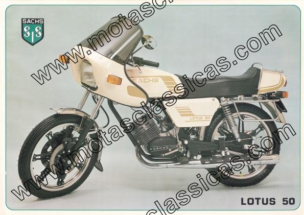 Sachs Lotus 50 a