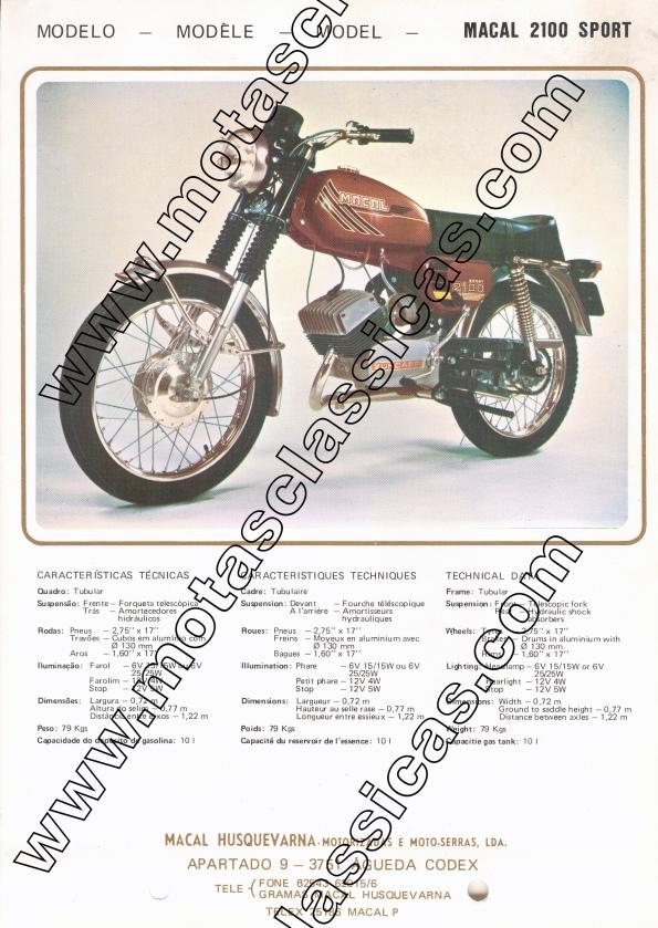 Macal 2100 Sport a
