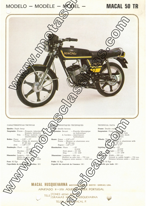 Macal 50 TR a