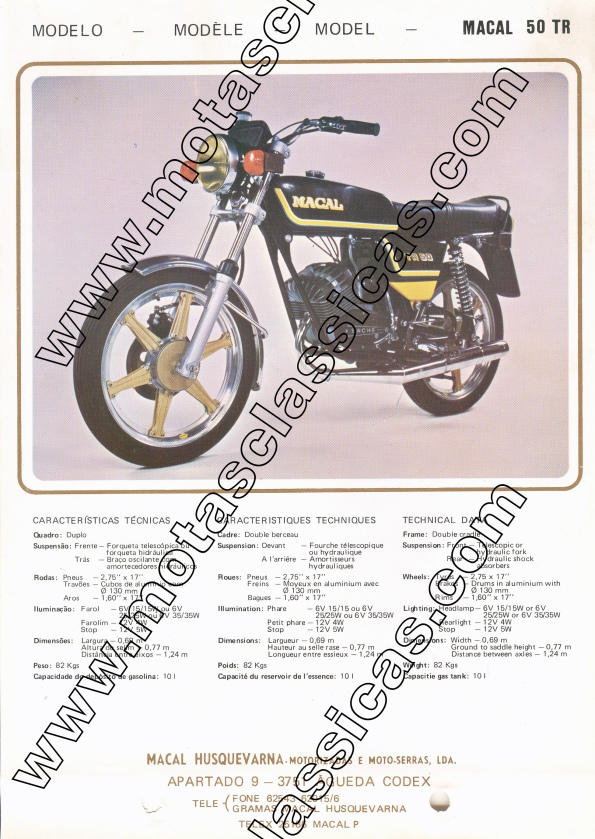 Macal 50 TR c