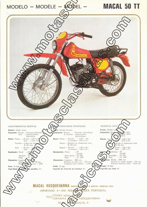 Macal 50 TT c