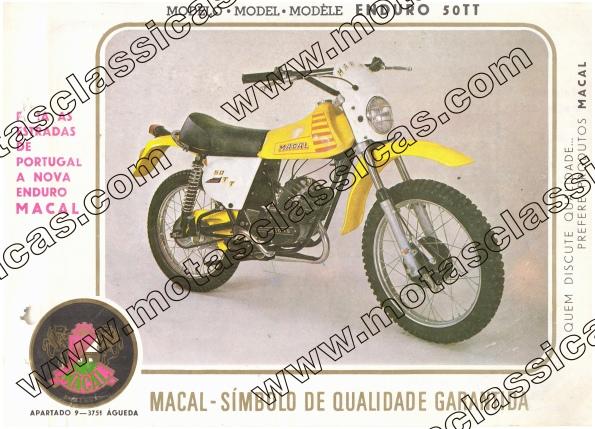 Macal Enduro 50 TT