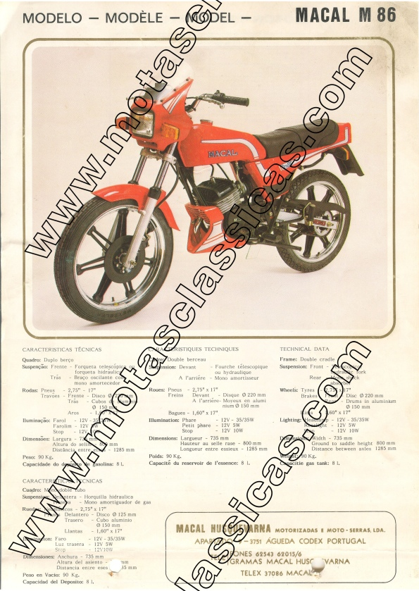 Macal M86 a