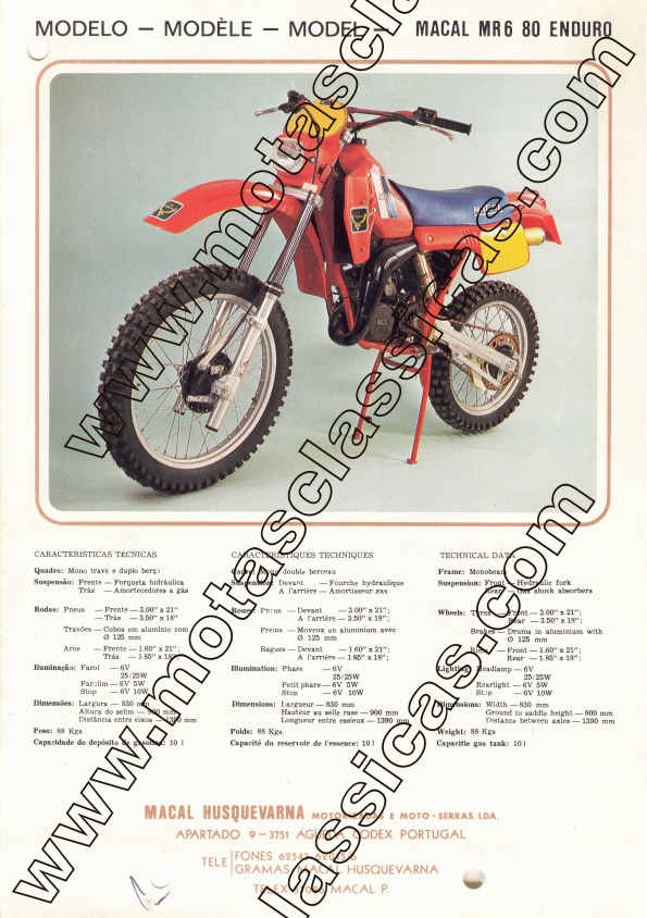 Macal MR 6 80 Enduro a